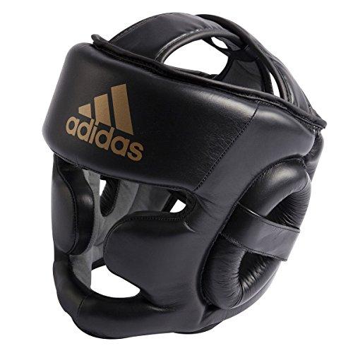 Adidas Super Pro Entrenamiento HG-Protector de Cabeza, Todo el año, Unisex Adulto, Color Rot/Schwarz...