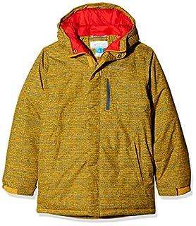 Columbia Garçon Veste de Ski, ALPINE FREE FALL, Nylon Hydra Cloth, Jaune (Golden Yellow Texture Print), Taille : S (B07DYWQ8RV) | Amazon Products