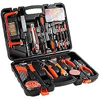 CATUO Boîte à Outils - Malette à Outils - Bricolage - Set Complet - Professionnel - Set d'Outils 100pcs