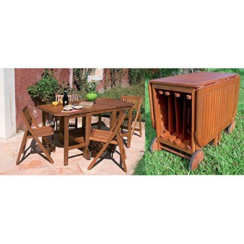 Tavoli da esterno in legno for Tavoli amazon