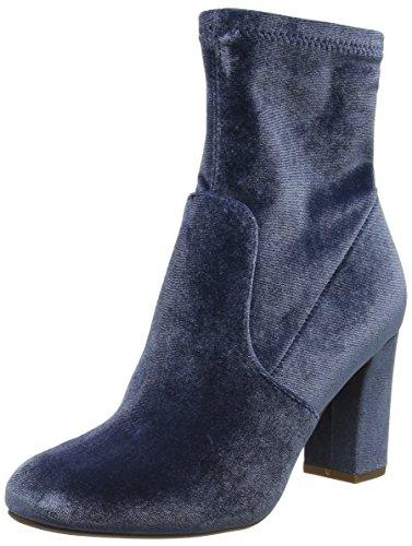 Steve Madden Footwear Damen Avenue Ankleboot Stiefel, Blau (Blue), 38 EU (Steve Madden-stiefel Für Frauen)