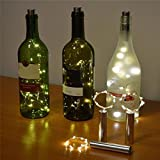 from Sixcup Sixcup Wine Bottle Lights, LED Cork Lights for Bottle Battery for DIY, Party, Decor, Christmas,Wedding (15 LED)