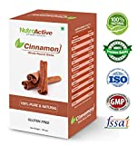 NutroActive Cinnamon Whole Round Sticks 100 gm, Dalchini Sticks