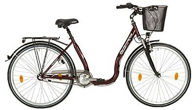 PERFORMANCE Citybike Tiefeinsteiger Sylt , 26/28 Zoll, 3 Gang, Rücktrittbremse 71,12 cm (28 Zoll)
