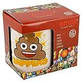 Emoji Happens Keramiktasse in Geschenk-Box, weiß