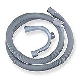 Stabilo-Sanitaer Ablaufschlauch 19/22 mm Abwasserschlauch 2,5 m Waschmaschine Spülmaschine Schlauch Kunststoff Wasserschlauch Ablaufschläuche Abwasserablaufschlauch