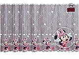 Polontex Gardinen Minnie Mouse 246 cm B x 155 cm L Kinderzimmer