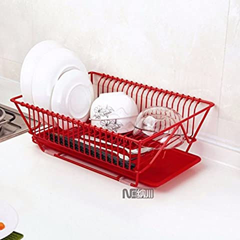 SSBY Stainless steel single layer drain Bowl dinnerware racks kitchen sink fruits and vegetables