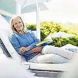 Beurer FB 50 Relax- Fußbad mit Vibrations- & Sprudelmassage, Infrarotlichtpunkte, Fußrefelxzonenmassage, Pediküre-Aufsätze