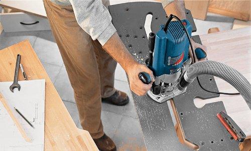 Bosch Professional GOF 2000 CE, Nennaufnahmeleistung, 8.000 – 21.000 min-1 Leerlaufdrehzahl, Kopierhülse 30 mm, L-Boxx, Parallelanschlag, 2.000 W, 0601619770 - 5