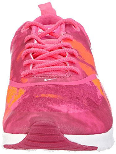 Nike - Air Max Thea Print, sneakers  da donna Rosa(Pink (Pink Powder/White-Fireberry-Total Orange))