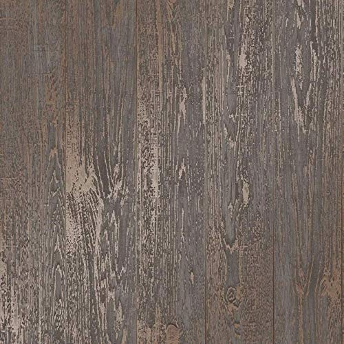 Fine Décor fd41959Loft Papiertapete Holz, braun