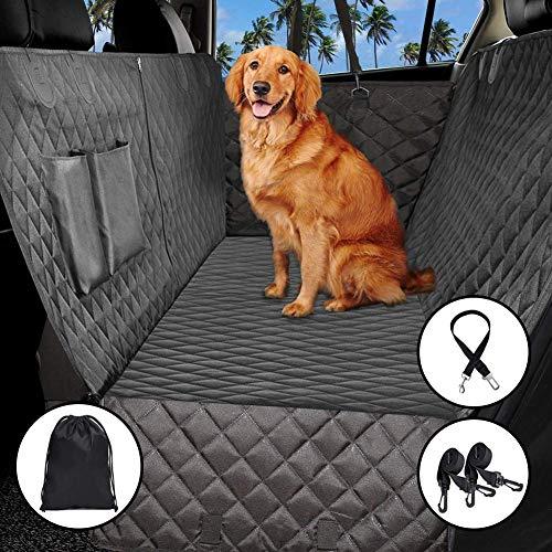 ADOV Hundedecke Auto, Autoschondecke für Rückbank Seitenschutz, Hunde Sitzauflage Wasserdicht waschbar Weiche rutschfeste Schutzdecke Schutz Decke Ideal für Autos SUV LKW
