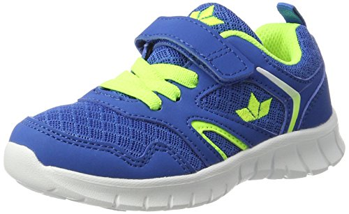 Lico Jungen Skip VS Sneaker, Blau (Blau/Lemon), 34 EU (Schuhe Wanderschuhe Vs)