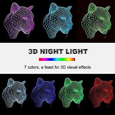 Linkax 3D LED Licht Nachtlicht