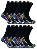 Sock Snob - Socquettes - Homme gris BWS 12 Pairs