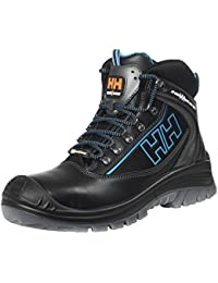d851c17ca41 Helly Hansen Workwear Helly Hansen Safety Boots S3 Vika Mid Tex 78255  Hightech High Shoes – Black Leather - EN…