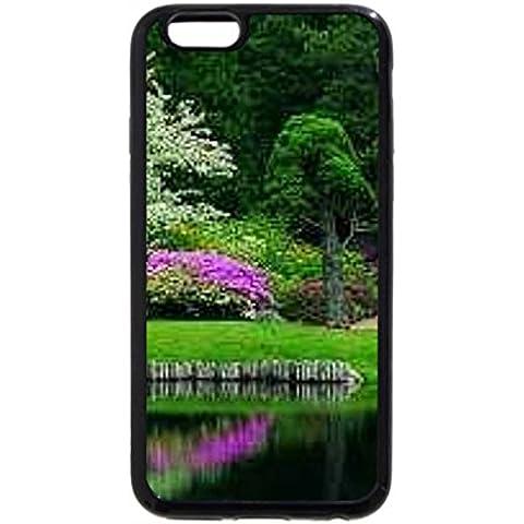 iPhone 6S Plus Funda, iPhone 6Plus, Azaleas Jardín