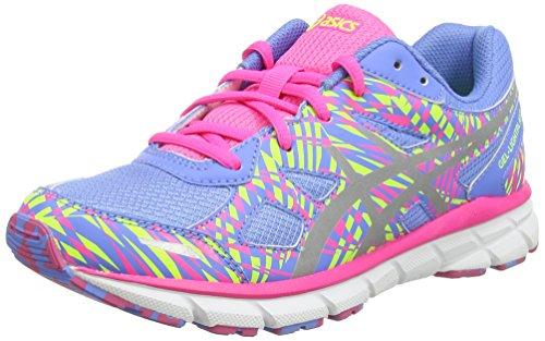 Asics Gel-lightplay 2 Gs, Chaussures de Running Entrainement Mixte adulte Bleu (Powder Blue/Silver/Hot Pink 4793)