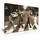 The Beatles Abbey Road Leinwand Kunstdruck Bild 76x 50cm
