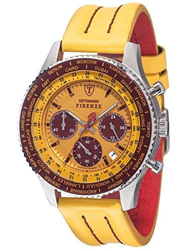 DETOMASO Herren-Armbanduhr Man Firenze Chronograph Quarz SL1624C-YB