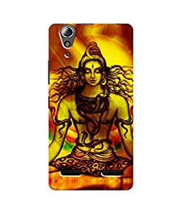 Sketchfab Lord Shiva Latest Design High Quality Printed Designer Back Case Cover For Lenovo A6000