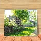 Ölgemälde Gemälde von Digital Suite - Beautiful Home 16 * 20 Zoll Füllen Sie Ihre Dekorative Ölfarben mit handgemaltem digitalen Ölgemälden.