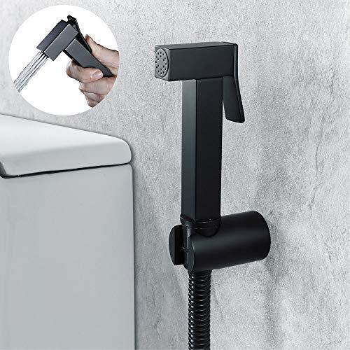 GRX-LYPT Bidet Brause Set,Bidet Sprayer,Toilet Hand Bidet Spray Kit,Messing WC Handbrausen Windel Sprayer,Bidet Sprühkopf, Schlauch,Bidethalter,WC Brause für Intimdusche
