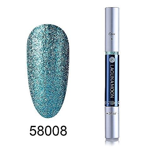 Gel Nagellack Stift, Soak-off-UV-LED Farbe Gel, lagunamoon Gel Polish