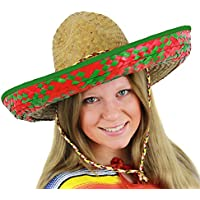 Amazon.es  sombrero paja - I LOVE FANCY DRESS   Disfraces y ... 41e8be6f5a3