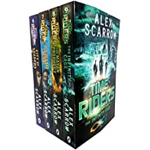 Alex scarrow time riders collection 4 books set