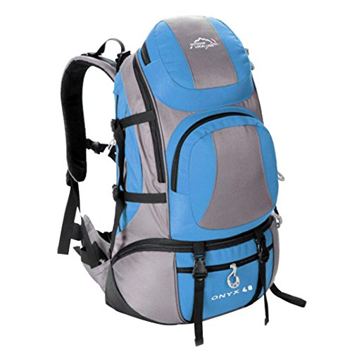 Backpack-outdoor Backpack 45L Large Capacity Professional Waterproof  Mountaineering Bag Men And Women Hiking Sports 504ea579de