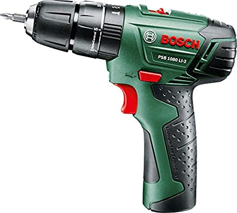 Bosch 1080 LI-2 Cordless Combi Drill with Integrated 10.8 V