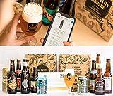 Pack bière Découverte Autour du Monde - 11 Bières du Monde + 1 verre et 1 guide dégustation - Spécial Cadeau Fête des Pères - 11 x 33cl - Moyenne ratebeer +90/100 - Une Petite Mousse