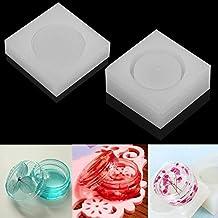 september-europe joyas Beading Casting molde, DIY hecho a mano molde de silicona,