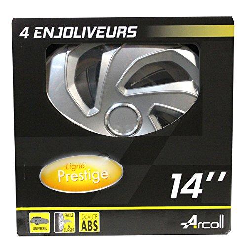 Arcoll 54033 4 Enjoliveurs Rex Ring Set de 4