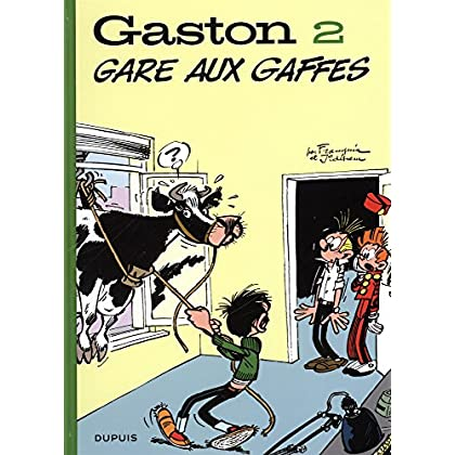 Gaston (Edition 2018) - tome 2 - Gare aux gaffes (Edition 2018)