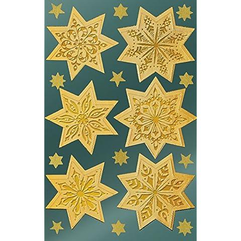 Avery Zweckform 52771Navidad pegatinas, 36Pegatinas, color estrellas dorado 86 unidades
