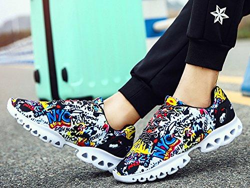Iiiis r Homens Sapatos De Fitness Pretos Atletismo Tênis Sapatos Mulheres De De Sapatos Caminhada Corrida Unissex rra5Udqwx