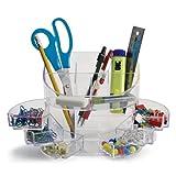 OIC 22824 - Organizador de material de escritorio, transparente