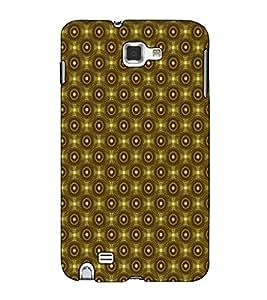 Fuson Designer Back Case Cover for Samsung Galaxy Note 2 :: Samsung Galaxy Note Ii N7100 (Brown colour pattern)