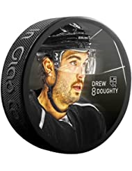 Sher-Wood Drew Doughty Star Player NHL de Los Angeles Kings Puck