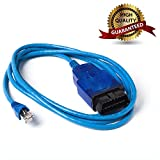 Goldplay Ethernet ENET RJ45OBD OBDII OBD2Interface Codierung für F-Serie Kabel Kompatible mit BMW e-sys