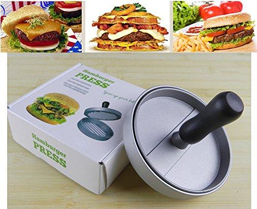 51ciZNSRqBL - Niviy Hamburgerpresse Set Hamburger Form Burger Maker Antihaft Patty Schimmel, Ideal für Burger, Hamburger, Patties, Presse, Beste Küche und Grillen Zubehör, Grill aus Aluminium