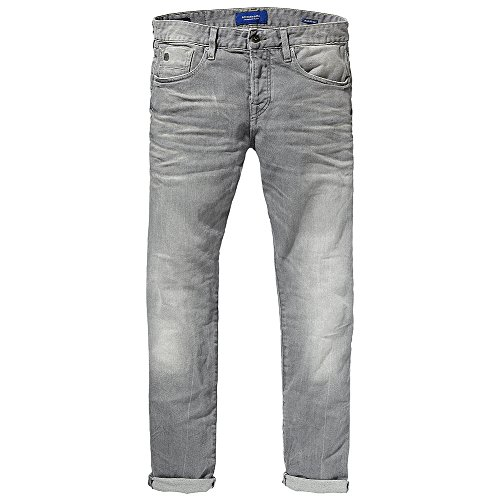 Scotch soda jeans ralston platium & Gris - Gris