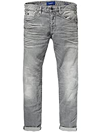 Scotch & Soda Herren Slim Jeanshose 99119985096 Ralston - Stone and Sand