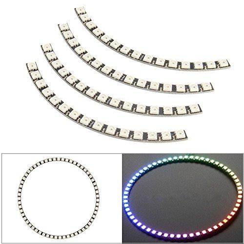 Pegasus Ring Wanduhr 60 LED WS2812 5050 RGB LED Lampe Panel für Arduino -