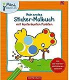 Mein erstes Sticker-Malbuch mit kunterbunten Punkten (Mini-Künstler) hergestellt von Coppenrath