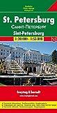 Freytag Berndt Stadtpläne, St. Petersburg - Maßstab 1:20 000, 1:53 000
