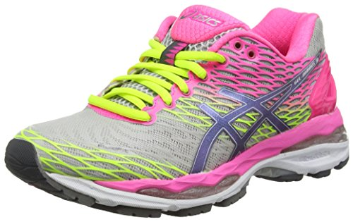asics-gel-nimbus-18-womens-running-shoes-grey-silver-titanium-hot-pink-9397-45-uk